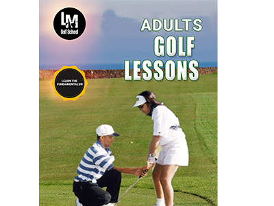 Promotion Golf lessons